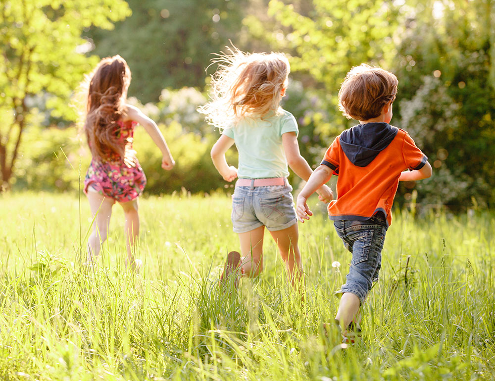 Outdoor Play To Burn Off Steam