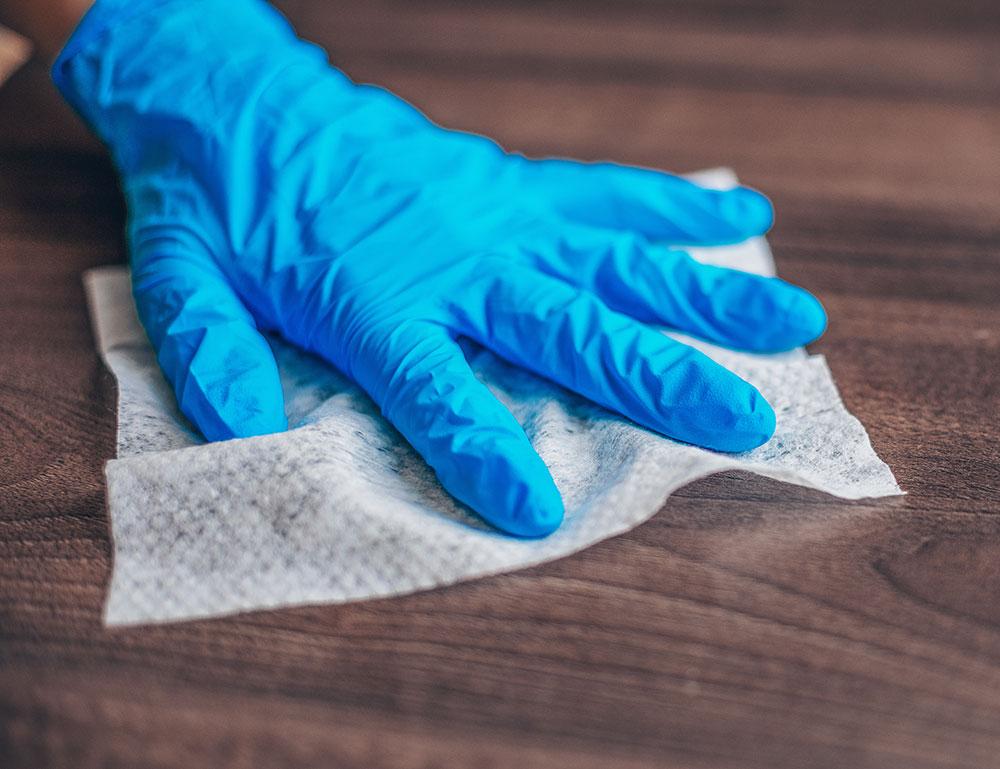 Regular Sanitization Keeps Everything Clean