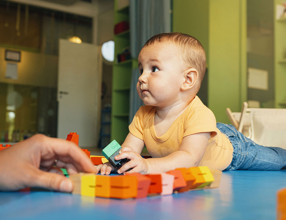 Sensory Play Inspires Developing Minds