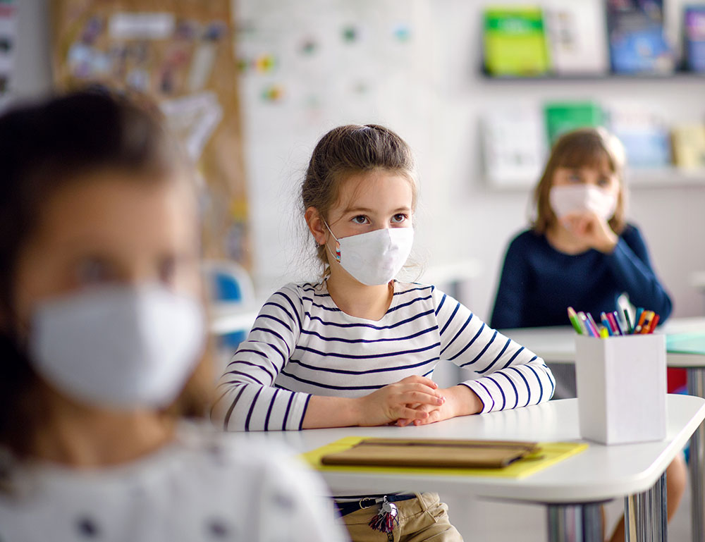 Smaller Class Sizes For Low Transmission Risk